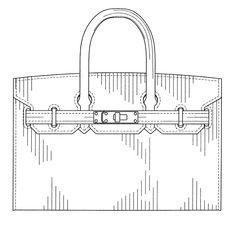 Patent USD656313 - Handbag - Google Patents Hermes Birkin