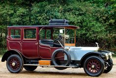 (1913) Open Drive Limousine by Fox & Bodman