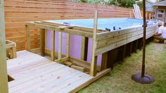 One enterprising architect creates a swimming pool out of a dumpster.