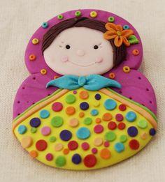 Matryoshka for a little girl birthday