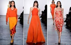 Orange is the new black - Frazer Harrison/Getty Images for NYFW: The Shows
