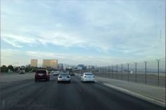 Getting closer to the Strip - Las Vegas Boulevard - Las Vegas, Nevada, USA