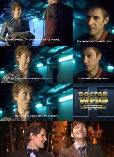 It's the Doctor's birthday!