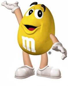 I love M&M characters.  Yellow is my favorite!