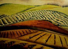 Works on Paper - Dorothea (Dorrit) Foster Black - Page 2 - Australian Art Auction Records Watercolor Trees, Watercolor Landscape, Landscape Art, Australian Painters, Australian Artists, White Gouache, European Paintings, Fine Art Auctions, Art Database
