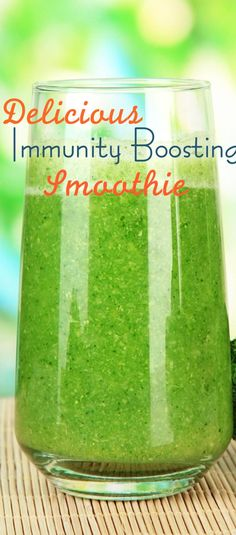 Delicious Immunity Boosting Smoothie! - Kara's Party Ideas - The Place for All Things Party