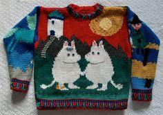 Knitting Pattern: Moomintroll Size Five Years por amarinalevin