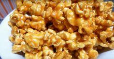 Vous vous régalerez de ce POPCORN au caramel et aux noix! Quoi de mieux pour regarder votre émission préférée?!