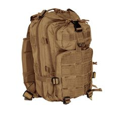 Voodoo Tactical Level III Assault Pack 72 Hour Bug Out Bag – 15-7437 Coyote Brown / Tan