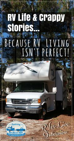 Find out how this mom and wife wrote a hilarious book about RV life and crappy RV camping moments. #rvingfulltime #happycampers #fulltimervliving