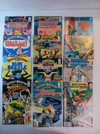 12 COMIC LOT - SECRET ORIGINS #1-48  (DC 1986) *FREE SHIPPING*