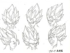 Dragon Ball Art Concepts Model Sheets. provided by: www.kamisama.com.br: - Visit now for 3D Dragon Ball Z compression shirts now on sale! #dragonball #dbz #dragonballsuper