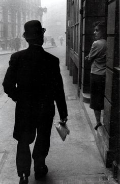 London, 1958  by Sergio Larrain