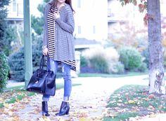 Stripe Tunic Collection - Magnolia Post Co Fall Lookbook, Cambridge Satchel, Magnolia, Tunic, Collection, Fashion, Moda, Robe, Tunics