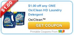 Tri Cities On A Dime: SAVE $1.00 ON OXICLEAN HD LAUNDRY DETERGENT