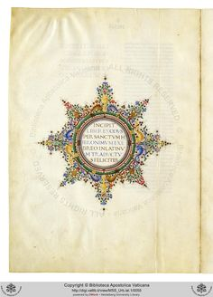 Urb.lat.1: Urb.lat.1 Biblia sacra latine. Vetus Testamentum cum prologis et argumentis s. Hieronymi et aliorum (sec. XV ex)