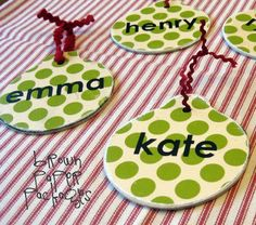 22 Gorgeous Homemade Ornament Patterns