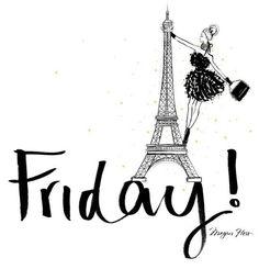Friday in Paris | La Beℓℓe ℳystère