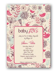 Discounted Baby Shower Invitations