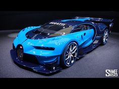 Bugatti Vision Gran Turismo - EXCLUSIVE IN-DEPTH TOUR - YouTube