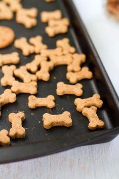 Homemade Peanut Butter Dog Treats Recipe on Yummly. @yummly #recipe #HomemadeDogTreatsWithPumpkin