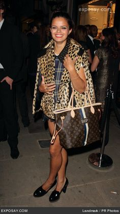 Bip Ling, veryfirstto.com Luxforecast Connoisseur, at  the Fashion's Night Out event.