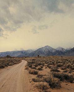 The road less traveled | desert photo wanderlust