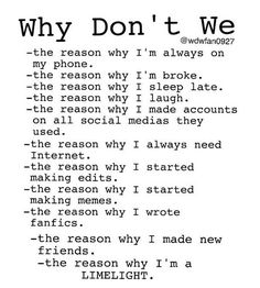Thanks why dont we for helping me accomplish most of these things