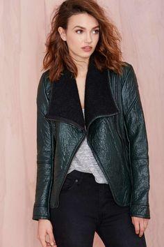 Blank NYC Drape Jacket