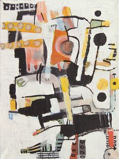 Olaf Boqwist, untitled, 30x40cm, mixed media on canvas  #abstractexpressionism #pattern #mixedmedia #painting #boqwist www.boqwist.com
