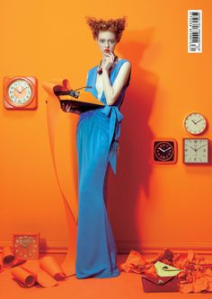 I don't have any ideas... I run out. What to write. Someone help.   FASHION PHOTOGRAPHY WITH BOLD COLOURS
