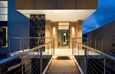 At Wolf Architects we understand the value of a well designed entrance and thus all our projects impress upon entry. The entrance is a point of arrival, reception and first impression to the interior space. It is a moment to be savoured and also remembered.