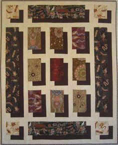 shadowquilt, pattern by Leah Day made in 2013 Berdien