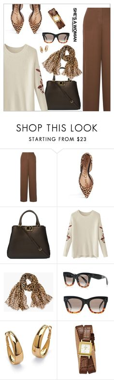 """Theory Ryeridge Pants"" by biange ❤ liked on Polyvore featuring Theory, Sam Edelman, Calvin Klein, Chico's, Palm Beach Jewelry and GUESS"