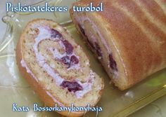 Piskótatekercs túróból (gluténmentes, cukormentes) recept foto Candida Diet, Ketogenic Diet, Sugar Free Diet, Hungarian Recipes, Hungarian Food, Healthy Sweets, Creative Cakes, Cake Cookies, Hot Dog Buns