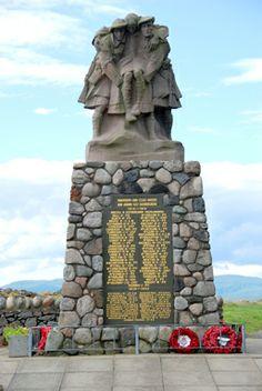 War Memorial in Oban, Argyll, Scotland War Memorials, Lest We Forget, World War One, Public Art, Scotland, Around The Worlds, British, Memories, Heart