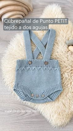 Knitting For Kids, Baby Knitting, Crochet Baby, Knit Crochet, Wool Fabric, Baby Sweaters, Knitting Designs, Crochet Clothes, Day Dresses