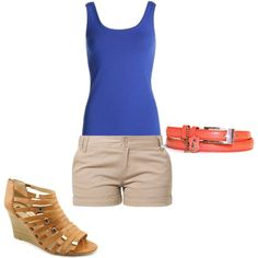 """""""Shorts"""" by christine-rosario on Polyvore"""