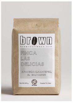 The Brown Coffee Co., Farm-Direct from El Salvador, Whole Bean Coffee, Roasted Fresh, 12oz (340g) Bag - http://www.teacoffeestore.com/the-brown-coffee-co-farm-direct-from-el-salvador-whole-bean-coffee-roasted-fresh-12oz-340g-bag/
