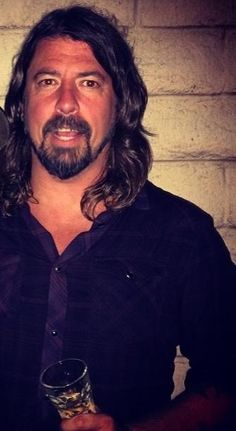 DG....he looks really handsome here, I almost put him on my man drool board, but it's Da Grohl!