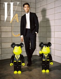"TVXQ!'s ""Max"" Chang Min W Korea Magazine April 2013"