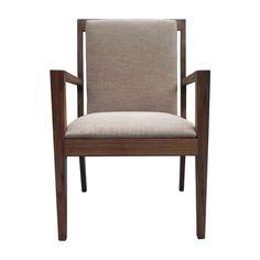 餐椅 榆木实木框架+布艺软包 265-105485 W584*D635*H914 mm
