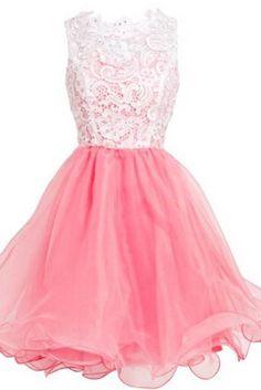 Lace Homecoming Dresses,A-Line Graduation Dresses,Homecoming Dress,Short/Mini Homecoming Dress