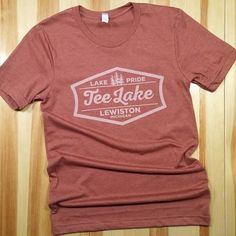 NEW soft-style Tee Lake t-shirt in a great Autumn color! Open Fri - Sun 10am to 4pm. #teelake #lewiston #lewistonmi #upnorth #puremichigan #teelakemercantile #purelewiston #michigan #teelakeresort