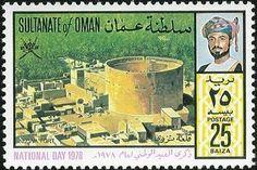 Sello: Oman National Day (Oman) (Nizwa Fort) Mi:OM 185