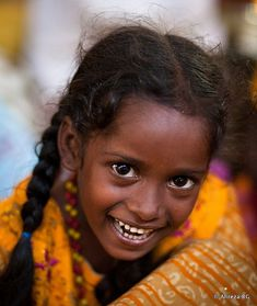 Such a happy, beautiful smile. Faces of South India