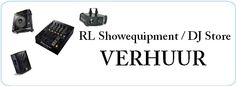 Bij RL Showequipment / DJ Store kun je ook diverse apparatuur huren voor je evenement of feest.  http://www.djstore.nl/content/8-verhuur-dj-apparatuur