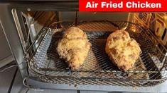 Air Fried Chicken Breast Recipe (Air Fryer) Fried Chicken Parmesan, Air Fryer Fried Chicken, Fried Chicken Breast, Nuwave Oven Recipes, Air Fryer Oven Recipes, Oven Chicken Recipes, Countertop Oven, Bbq Meat, Breast Recipe