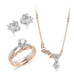 [14k/18k 메르헨 웨딩세트 [개별구매가능]] Simple Jewelry, Cute Jewelry, Metal Jewelry, Jewelry Sets, Body Jewelry, Diamond Jewelry, Jewelery, Jewelry Necklaces, Pearl Necklace Designs