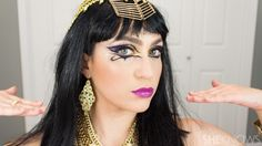 Katy Perry Cleopatra makeup from her 'Dark Horse' video. Pictorial!